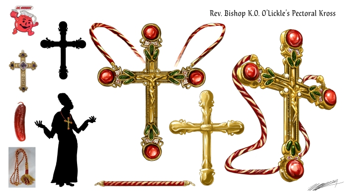 Rev. Bishop K.O. O'Lickle's Pectoral Kross