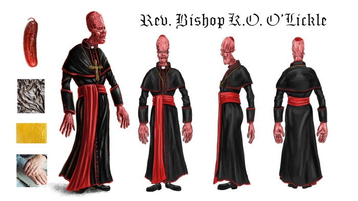 Reverend Bishop K.O. O'Lickle 3/4 and Turnaround