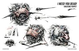 Creature Puppet Design (First Draft)